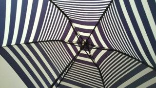おしゃれになってます!日傘で紫外線から肌を守る