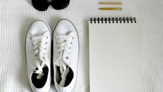 夏の大人のおしゃれ・2色コーデと靴、バック。